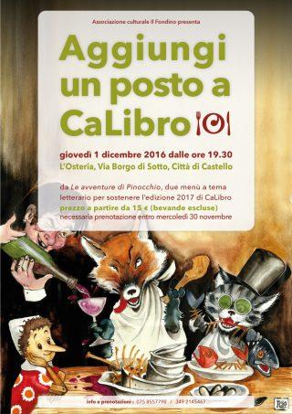 Aggiungi un posto a CaLibro - Le avventure di Pinocchio